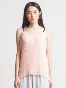 harga Blaize V-Accordion Tank Pink Lazada.co.id