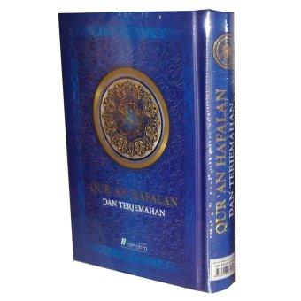 Almahira Quran Hafalan dan Terjemahan (Biru)