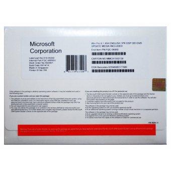 Microsoft Windows 8.1 Professional OEM - 64 Bit