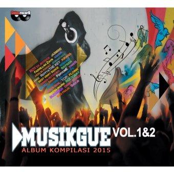 Shine Record CD Album Kompilasi Musik Gue Vol. 1 & 2