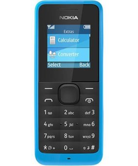 Nokia 105 - 8MB - Cyan