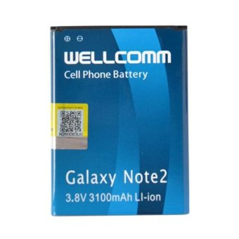 Wellcomm Battery Double IC Untuk Samsung Galaxy Note2 terpercaya