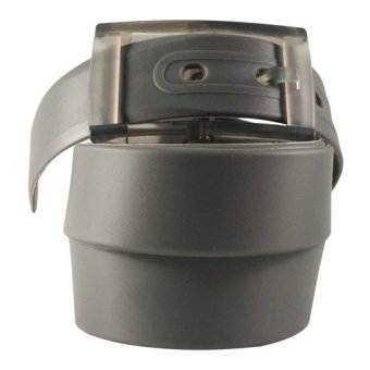 harga Dorai Plastic Belt - Ikat Pinggang Pria / Wanita (Grey) Lazada.co.id