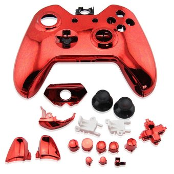Full Housing Shell Case Mod Kit with Buttons for Xbox One (Red) (Intl)