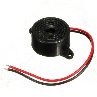 95DB Alarm DC 3-24V 12V Electronic Buzzer Continuous Beep Alarm Arduino Black (Intl)