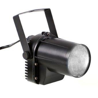 3W RED Beam Spotlight Party DJ Bar Stage Lighting Pinspot Ligh eu plug (Intl)