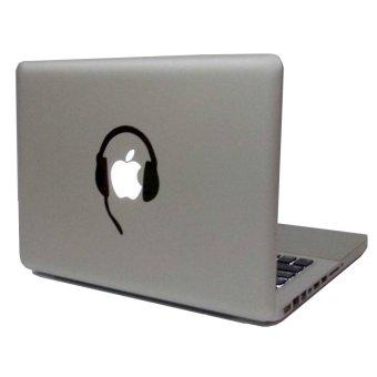 Small Headset Vinyl Decal Sticker Skin for MacBook Pro Air Retina Mac 11'' 13'' 15