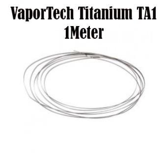 VaporTech Titanium Wire TA1 (1 Meter) 28 Gauge