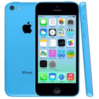 Refurbished Apple iPhone 5C - 32 GB - Biru - Grade A