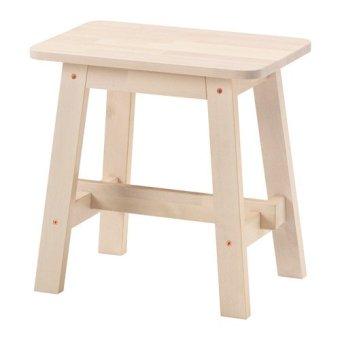 harga IKEA NORRÃ…KER Bangku Kayu Birch Lazada.co.id
