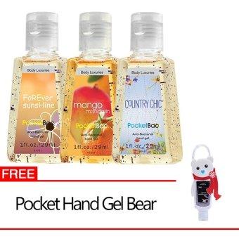 Dear Body Hand Sanitizer Sunshine Country Mango + Gratis Karakter Red Teddy Bear