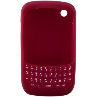 Spotlite Silikon Keypad 1 Tone - Blackberry 8520 - Merah Marun