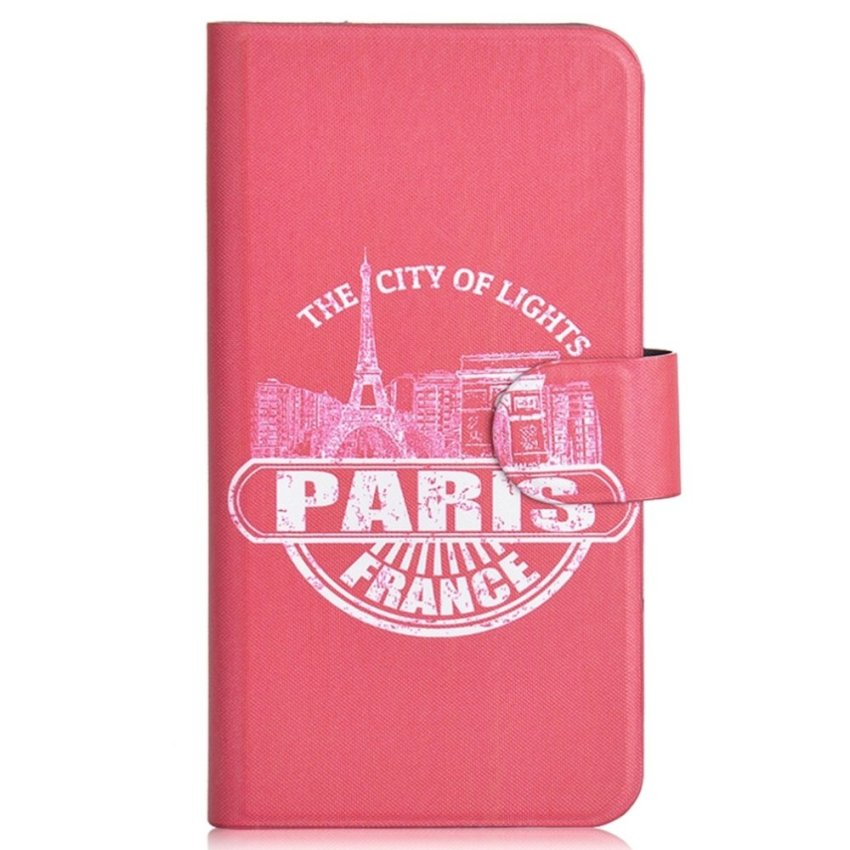 Paris Eiffel Tower Design Card Slot Magnetic PU Leather Flip Case Cover Compatible For SONY Xperia S LT26i Xperia SL LT26II