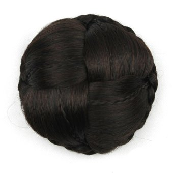 Women's Fashion Clip-on Synthetic Hairpiece Dish Hair Contract Tail Wig G