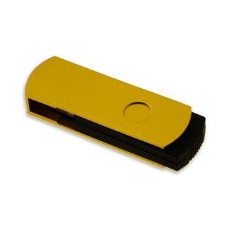 FbscTech 100 Pack 2GB Pendrive Gold Swivel Cheap Bulk USB 2.0 Memory Stick- Intl