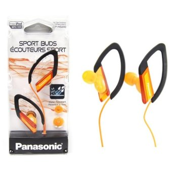 Panasonic RP-HS200D Sports Style Ear-Clip In-Ear Headphones