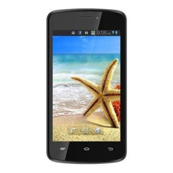Advan Vandroid S4A + Softcase - 4GB - Abu-abu