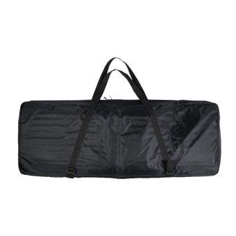420D Dual Zipper Big Bag Case Thicken Padded 4mm Foam Water-Resistant 47.2