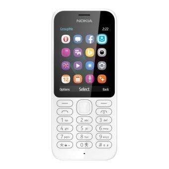 Nokia 222 Dual Sim - 16MB - Putih