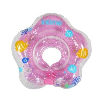 Intime Neck Ring - Pelampung Ban Leher Bayi - Bintang Pink