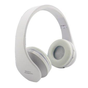 NX-8252 Wireless Bluetooth Headset (White) (Intl)