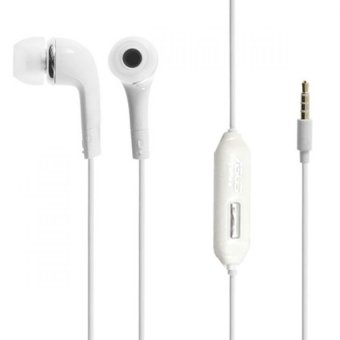 Asus Stereo Handsfree Headset Asus Zenfone 4/5/6 - Putih