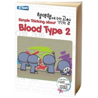 Buku Kita Simple Thinking About Blood Type 2