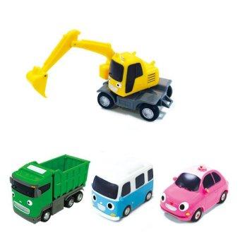 harga Little Bus TAYO FRIENDS Special Mini 4 Pcs Toy Set Lazada.co.id
