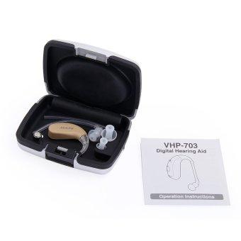 Super Mini Hearing Enhancement Aid Sound Amplifier Tool Stylish Design New - Intl