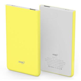 Jual Hame X1 Power Bank 1 Port Usb 4000Mah - Hame-X1 - Kuning Harga Termurah Rp 350900. Beli Sekarang dan Dapatkan Diskonnya.