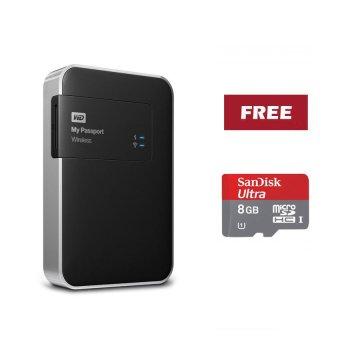 Jual Western Digital My Passport Wireless 1TB + Sandisk Ultra Micro SDHC 8GB Harga Termurah Rp 3955000. Beli Sekarang dan Dapatkan Diskonnya.