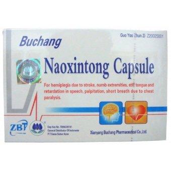 Buchang Naoxintong Pengencer Darah Kolestrol Stroke Dan Lumpuh - 1 Dus