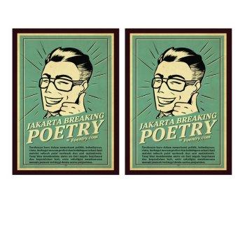 Foentry Buku Puisi Nyleneh Bundle 2 Buah