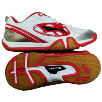 harga Li-Ning Badminton Shoes Saga Smash White-Red Lazada.co.id