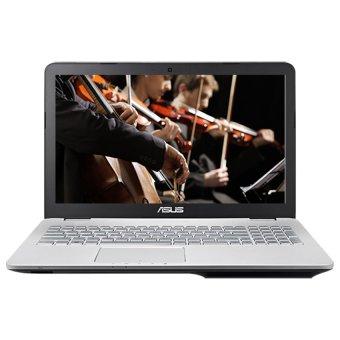 harga Asus N551ZU-CN041H - 8GB RAM - AMD FX-7600P - 15.6 - Silver Lazada.co.id