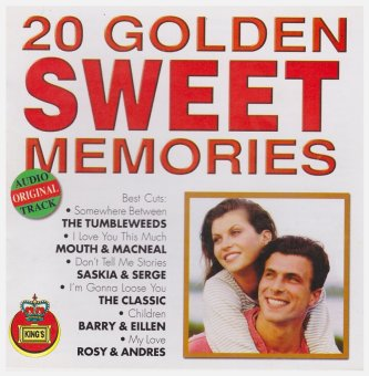 Bulletin Music Shop 20 Golden Sweet Memories