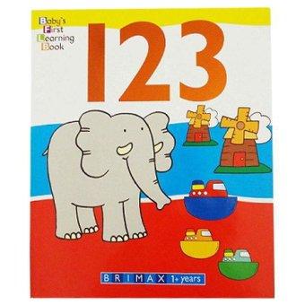 Genius Buku Anak Baby's First Learning Book : 123