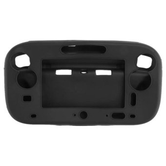Generic Soft Silicone Gel Protection for Wii U Gamepad Controller Black