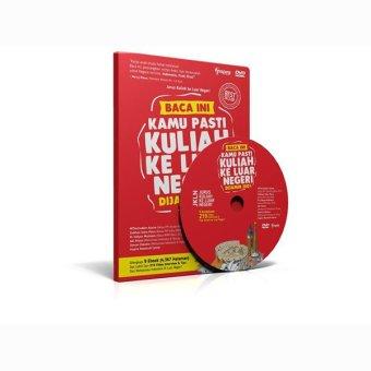 Jurus Kuliah ke Luar Negeri DVD Buku - Merah