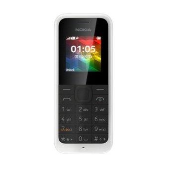 Nokia 105 New 2015 2000 Contac - Putih