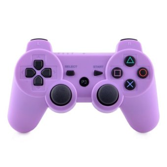 Durable Wireless Bluetooth Controller for PS3 (Purple/Black)