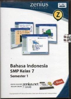Zenius Set CD SMP Bahasa Indonesia kelas 7 semester 1
