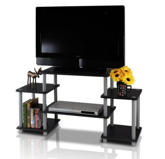 FUNIKA 11257BK/GY   Meja TV Entertainment Center   Hitam Harga Murah   image 407501 3 product