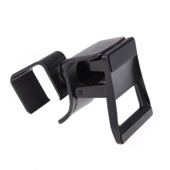 Adjustable Clip-on Bracket Stand Holder for PlayStation 4 Camera (Black)