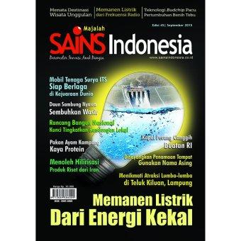 Sains Indonesia - Majalah SAINS Indonesia Edisi September 2015