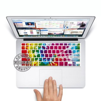 Coosybo US type Laptop Silicone Protective Keyboard Cover Skin Protection Sticker for 13.3