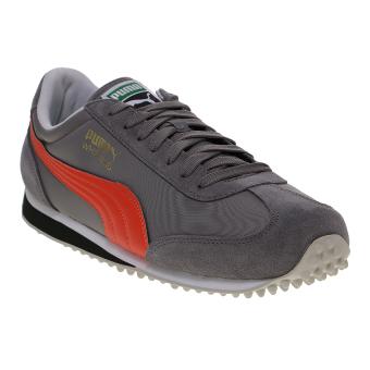 harga Puma Whirlwind Classic Men's Running Shoes - Steel Gray-Mandarine Red Lazada.co.id