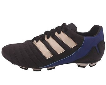 Cassico Ca 440 Sepatu Football/ Sepakbola Pria - Leather - Tpr Outsole - Nyaman Di Pakai - Hitam Kombinasi