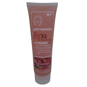 Yesnow, Body Spa Exfoliating Gel, Strawberry -350ml