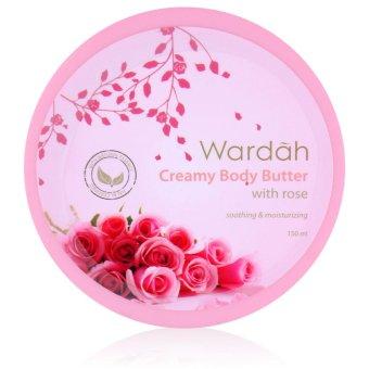 Wardah Creamy Body Butter - Rose 100 mL